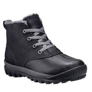 NWT Timberland Insulation Kids Lace Up Duck Boots